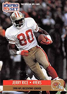 1991 Pro Set Football Card #11 Jerry Rice LL San Francisco 49ers Official NFL Trading Card