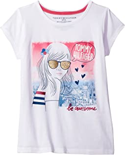 Tommy Hilfiger Kids - Be Awesome Tee (Big Kids)