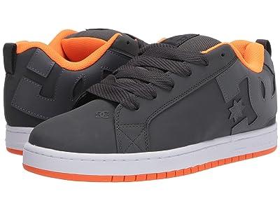 DC Court Graffik (Dark Grey/Orange) Men