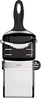 Mercer Culinary Dual Thickness Hand Slicer, Black
