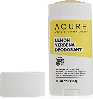 Acure Deodorant, Lemon Verbena, 2.25 Oz