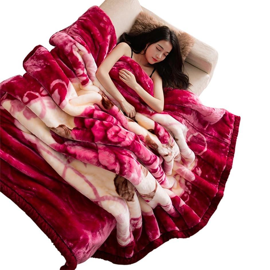 争うくちばし症状ダブル ? ベッド毛布,冬に厚く毛布キルト ソフト ラッセル裸の睡眠のための適したカウチ ソファ キャンプ旅行快適なスロー ブランケット毛布します。-A 150x200cm(59x79inch)