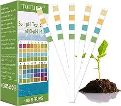 Soil Testing Kit,Soil pH Testing Kit,Soil Test Kit,pH Soil Test Kit,Soil Test Strips,pH Strips For Testing Soil, For Home ...