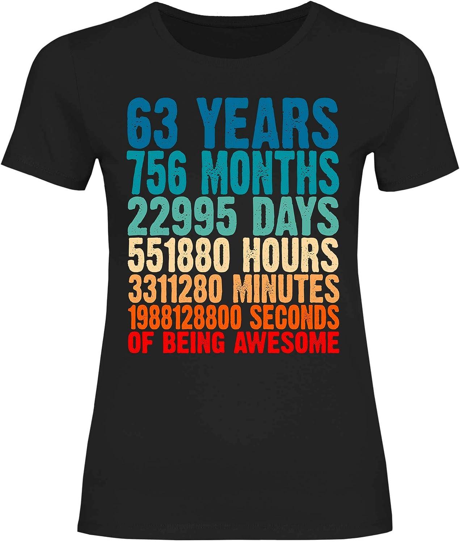 wowshirt Camiseta Desde increíble Regalo 40a 50a 60 años de Edad 20-90 años para Mujer