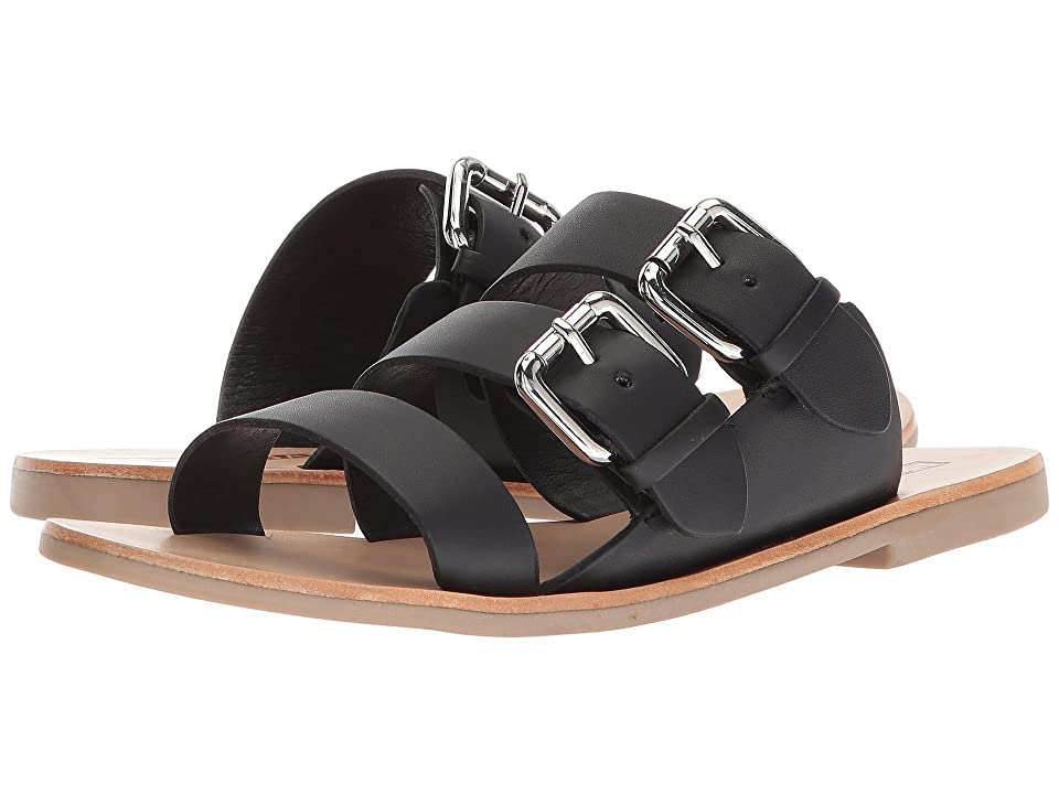 Sol Sana Foster Slide (Black) Women