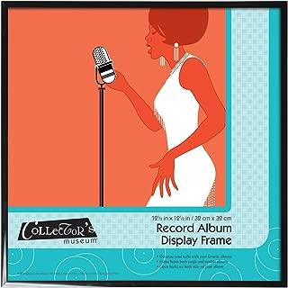MCS 12.5x12.5 Inch Record Album Display Frame, Black (40949)