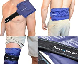"""Thermopeutic Reusable Ice Pack for Injuries and Pain Relief (15"""" X 7"""") - Extra Cold Long Lasting Gel Formula - for Shoulder, Back, Knee, Arm, Foot and More"""