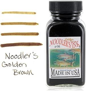 Noodlers Ink 3 Oz Golden Brown