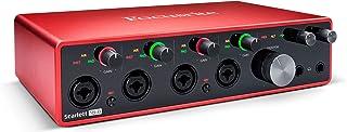 Focusrite Scarlett 18i8 18x8 USB Audio Interface 3rd Gen for Producers/Bands (Renewed)