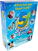 5 Second Rule Disney Edition — Fun Family Game About Your Favorite Disney Characters — Ages 6+