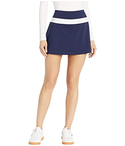 Fila Heritage Color Block Skort (Navy/Navy/White) Women