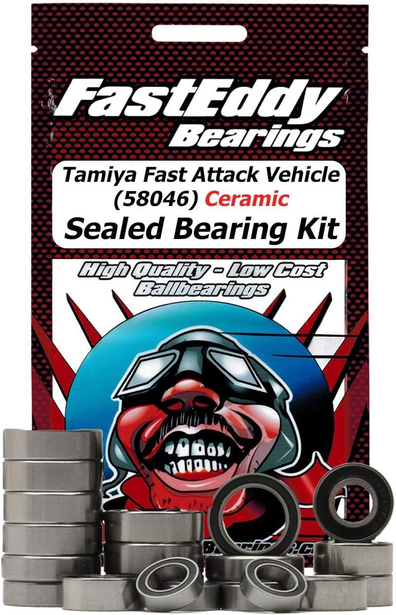 Tamiya Fast Attack Vehicle 58046 Kit Bearing 55% OFF Philadelphia Mall Ceramic Sealed
