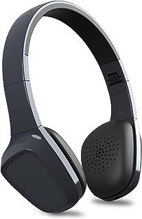 Energy Sistem Headphones 1 Bluetooth Graphite (Auriculares inalambricos, Bluetooth, Micrófono, Control de Llamadas, Batería Recargable, ultraligeros,Diadema Regulable y Almohadillas con rotación)
