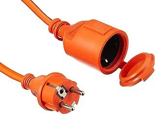 Cable alargador de goma color negro 15 m, H07RN-F 3G1,5, IP44, para construcci/ón AS Schwabe 70912