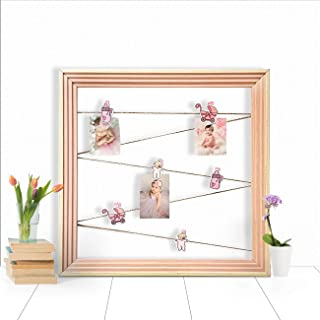 Art Street Wood Frame With Photo (Beige)