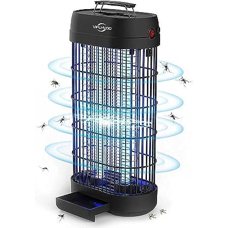 Lampe Anti-Moustique,22W UV Tue Mouches Destructeur D' Insectes Electrique Pas de Produits Chimiques avec Moustique Tueur Lampe de Grande Capacité pour Une Utilisation de 100㎡ en Intérieur ……
