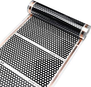 TuToy 50Cm 4M Floor Heating Film Infrared Underfloor Film Pads Honeycomb Reticulated 220V