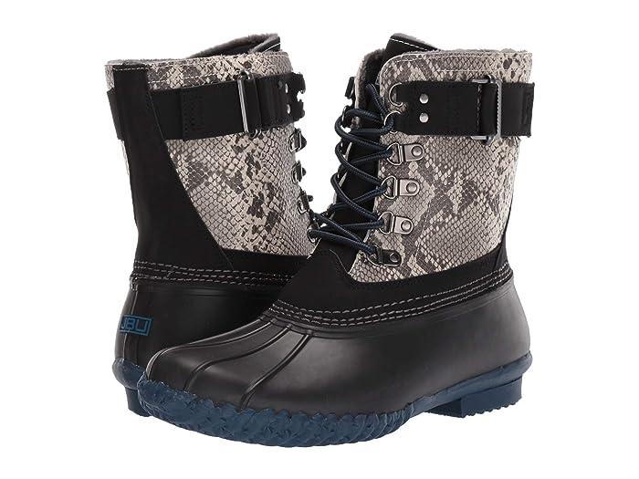 JBU  Calgary (Black Python/Navy) Womens Shoes