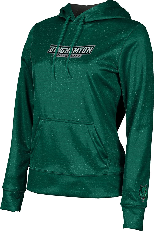 ProSphere Binghamton University Girls' Pullover Hoodie, School Spirit Sweatshirt (Heathered)