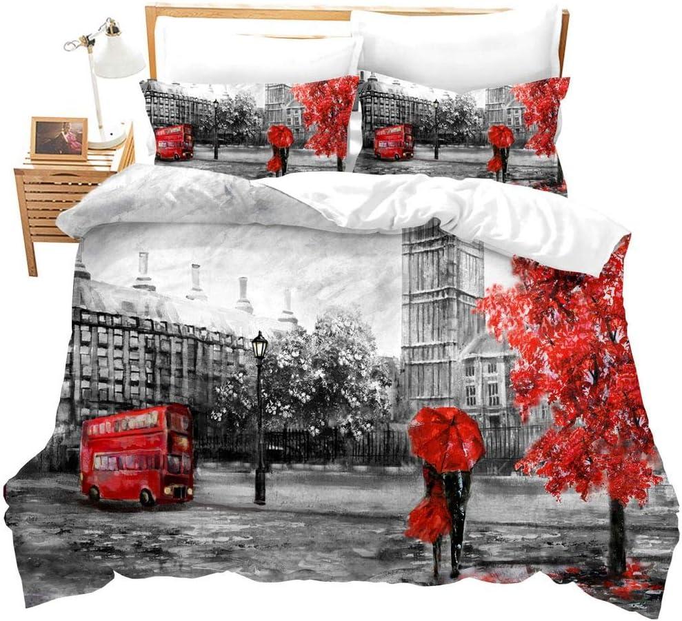 online shopping Feelyou London Bedding Set for Wholesale Couples D Soft Ben Big Microfiber