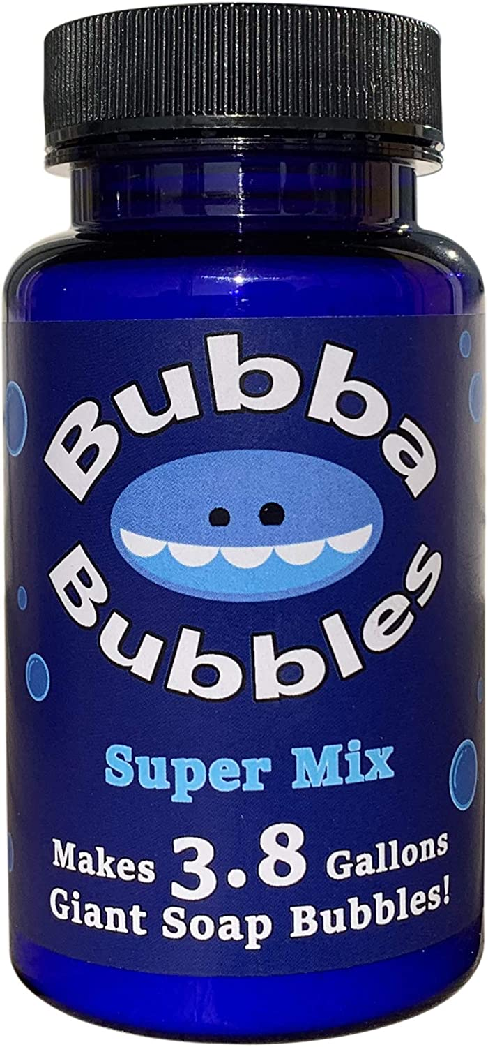 Bubba Bubbles Bubble Powder Makes 3.8 Gallons of Giant and Norma