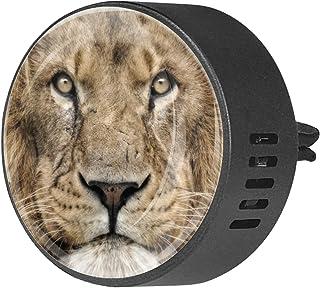 2 pièces Aromatherapy diffuseur diffuseur d'huile essentielle de voiture diffuseur d'aération clip lion