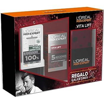 LOréal Men Expert - Pack con Crema hidratante Pure Power 50 ml y Limpiador Pure Charcoal 100 ml: Amazon.es: Belleza