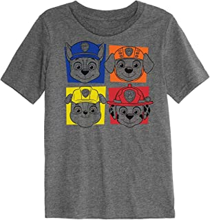 Toddler Boys 2T-5T Paw Patrol Chase, Marshall, Rocky & Rubble Graphic Tee