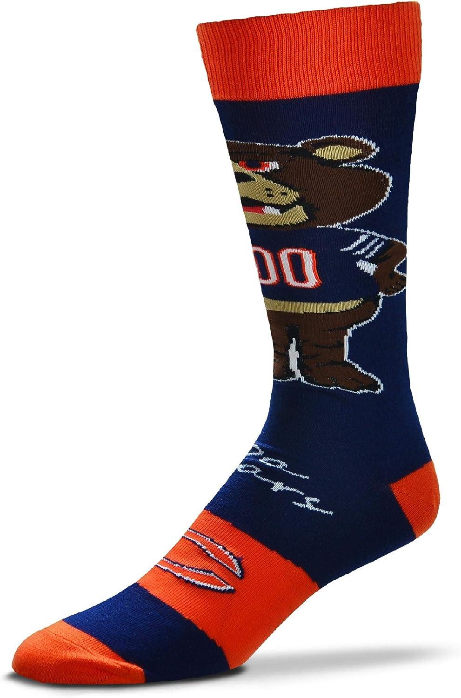 For Bare Feet - Official Max 55% OFF 46% OFF NFL Dress Crew Flag Socks Mascott Men's