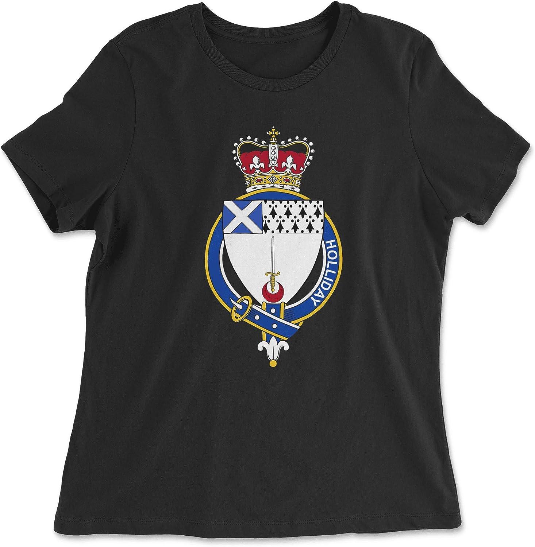 HARD EDGE DESIGN Women's Scottish Garter Family Holliday T-Shirt