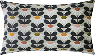 Orla Kiely Wild Daisy Grey Green Pink 200TC 100% Cotton Pair Of Housewife Pillowcases
