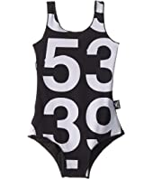 Numbered One-Piece Swimsuit (Infant/Toddler/Little Kids)