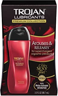 TROJAN Arouses & Releases Personal Lubricant, 3 oz.