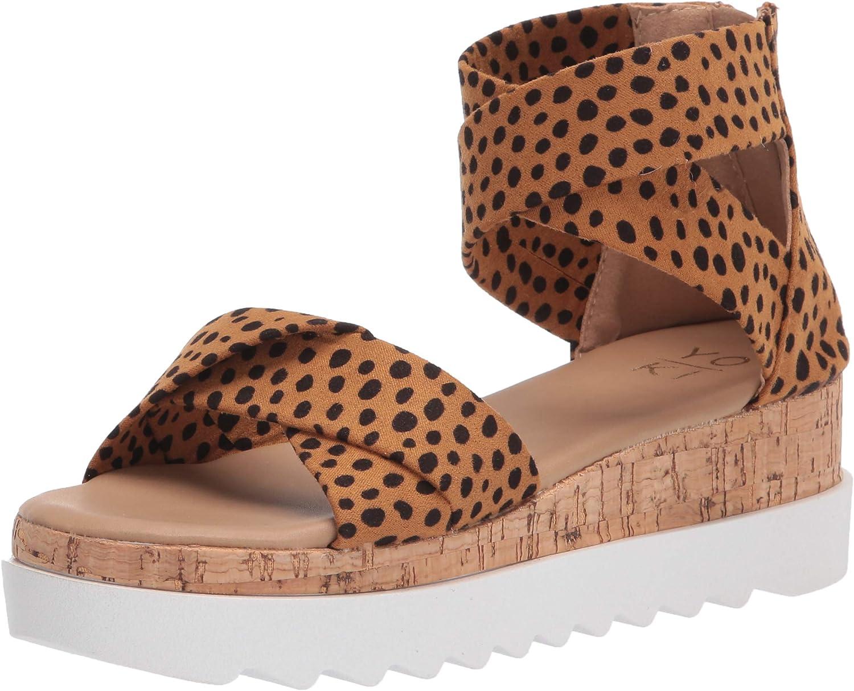 YOKI Women's Outdoor Wedge Sandal