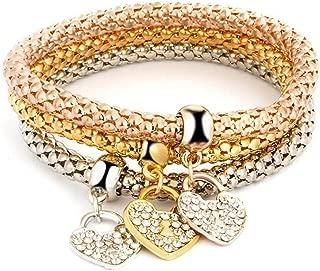 NOVADAB Trio Charm Bracelet, Bracelet for Women