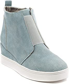 Women's Raja High Top Wedge Fashion Sneakers