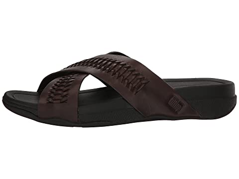 Fitflop Blackchocolate Surfeur Vente Diapositive d'usine Brun Z4UxaRxn