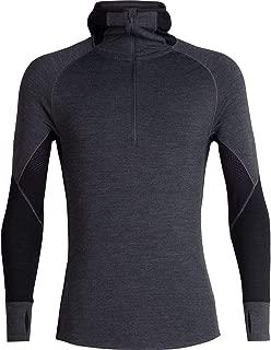 [アイスブレーカー] メンズ Tシャツ 260 Zone Long-Sleeve Half Zip Hood Top - [並行輸入品]