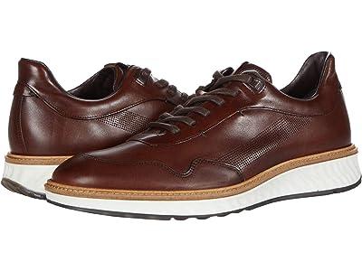 ECCO ST.1 Hybrid Sneaker (Cognac) Men
