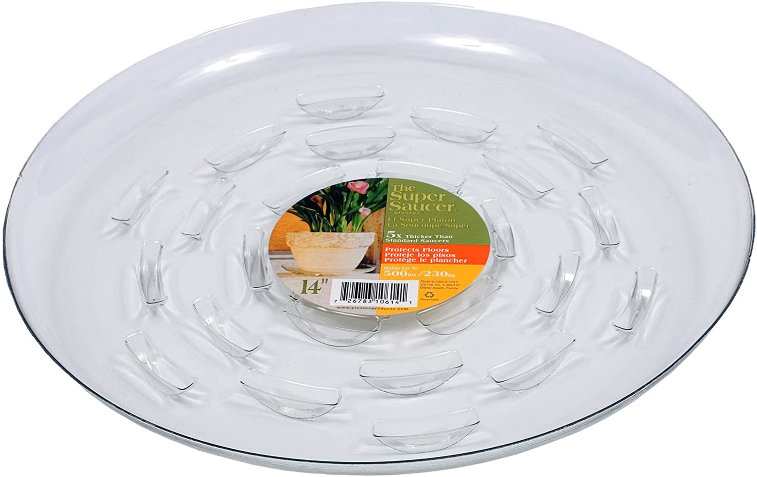 Plastec SS012 Super Saucer For Planters 12-Inch