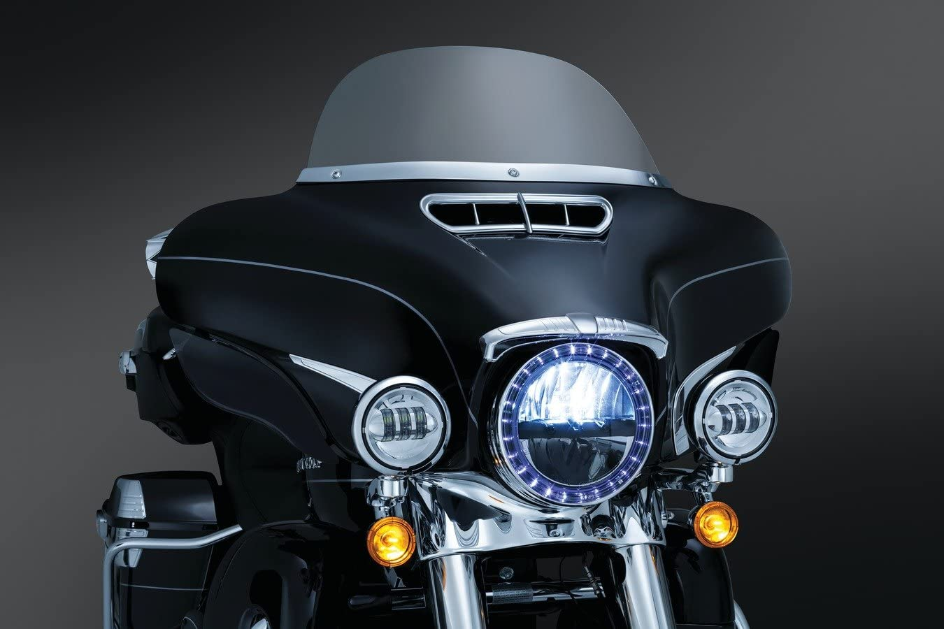 Trust Kuryakyn 7748 LED Halo Spotlight Rings Surprise price 4-1 for Harley-Davidson 2
