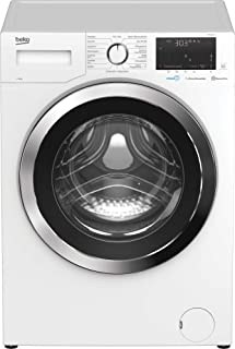 Beko WYA81643LE1 Waschmaschine/weißes LC-Display mit Startzeitvorwahl 0-24 h/Restzeitanzeige und Schleuderwahl/ 8 kg/ Energieklasse c