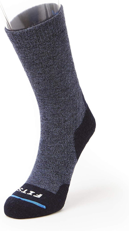 FITS Medium Hiker – Dedication Crew: Red L Hiking Essential Max 40% OFF Socks