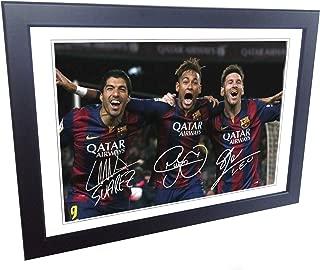 neymar signed soccer ball