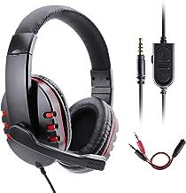 Gaming Kopfhörer für PS4 Xbox One, Gezimetie PS4 Headset mit Mikrofon,3.5mm Surround..