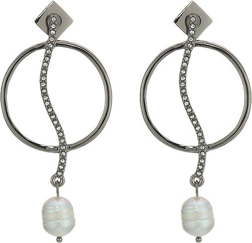 Hematite/Crystal/Light Gray Pearl