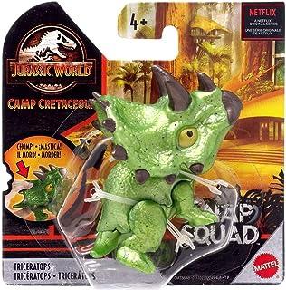 Jurassic World Camp Cretaceous Snap Squad Triceratops Figure