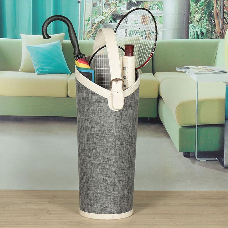 ZXQZ Umbrella Bucket   Umbrella Storage Rack   Oval   Household Umbrella Storage Bucket   3 colors Optional Umbrella racks ( color   B )