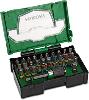 Hitachi 400.300.19 Stackable Accessory Bit Set (32 Pieces)