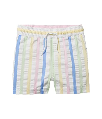 Janie and Jack Seersucker Swim Trunks (Toddler/Little Kids/Big Kids) Boy